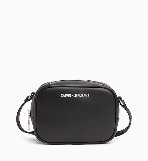 CALVIN KLEIN JEANS Cross Body Camera Bag - BLACK - CALVIN KLEIN JEANS LOGO SHOP - main image