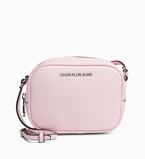 CALVIN KLEIN JEANS Cross Body Bag - CHINTZ ROSE - CALVIN KLEIN JEANS CROSSOVER BAGS - main image