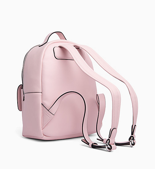 CALVIN KLEIN JEANS Round Backpack - CHINTZ ROSE - CALVIN KLEIN JEANS BACKPACKS - detail image 1