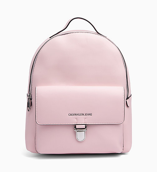 CALVIN KLEIN JEANS Round Backpack - CHINTZ ROSE - CALVIN KLEIN JEANS BACKPACKS - main image