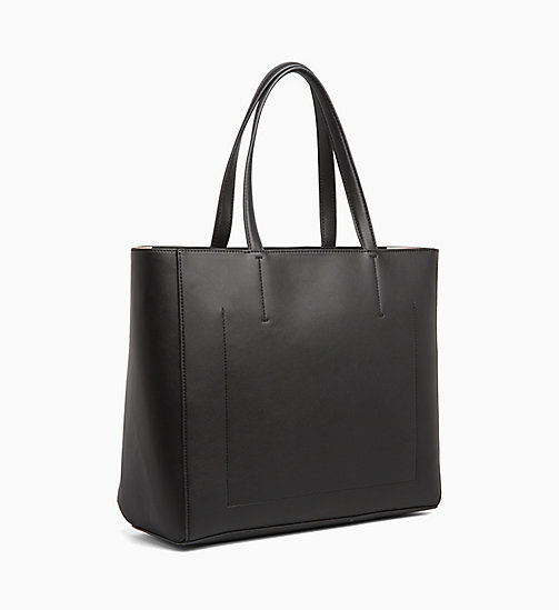 CALVIN KLEIN JEANS Large Tote Bag - BLACK - CALVIN KLEIN JEANS SHOES & ACCESSORIES - detail image 1