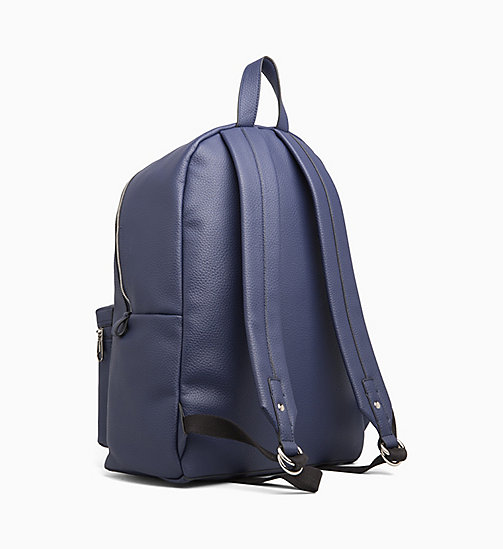 CALVIN KLEIN JEANS Round Backpack - NAVY - CALVIN KLEIN JEANS BACKPACKS - detail image 1