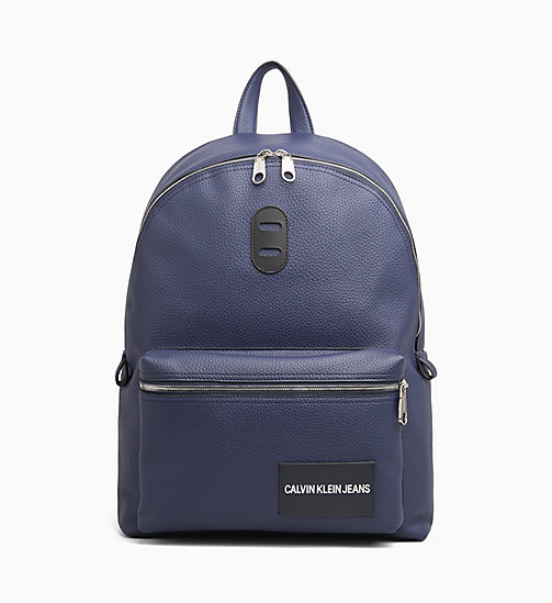 CALVIN KLEIN JEANS Round Backpack - NAVY - CALVIN KLEIN JEANS BACKPACKS - main image