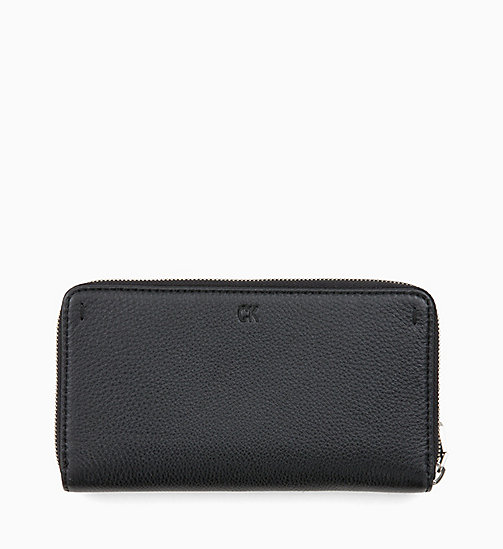 CALVIN KLEIN JEANS Long Zip-Around Wallet - BLACK - CALVIN KLEIN JEANS MEN - detail image 1