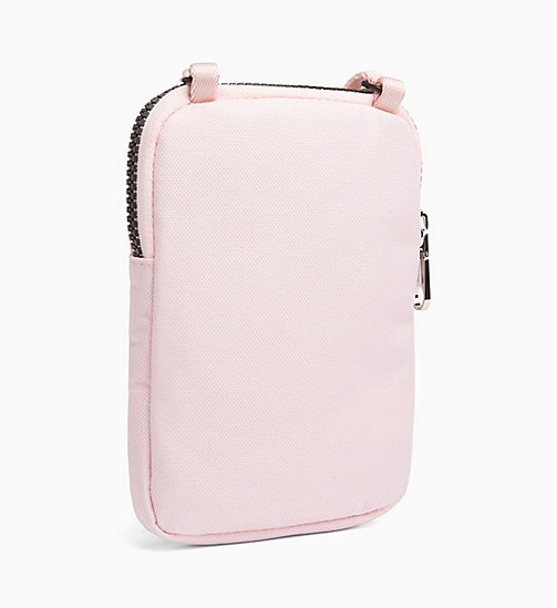 CALVIN KLEIN JEANS Phone Cross Body Bag - CHINTZ ROSE - CALVIN KLEIN JEANS WALLETS & SMALL ACCESSORIES - detail image 1