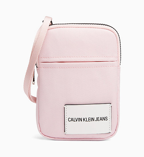 CALVIN KLEIN JEANS Phone Cross Body Bag - CHINTZ ROSE - CALVIN KLEIN JEANS WALLETS & SMALL ACCESSORIES - main image