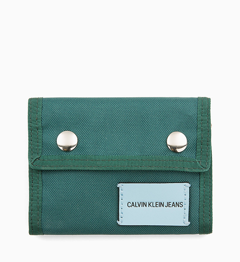 CALVIN KLEIN JEANS Canvas Billfold Wallet - CHINTZ ROSE - CALVIN KLEIN JEANS WOMEN - main image