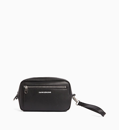 CALVIN KLEIN JEANS Wash Bag - BLACK - CALVIN KLEIN JEANS WALLETS & SMALL ACCESSORIES - main image