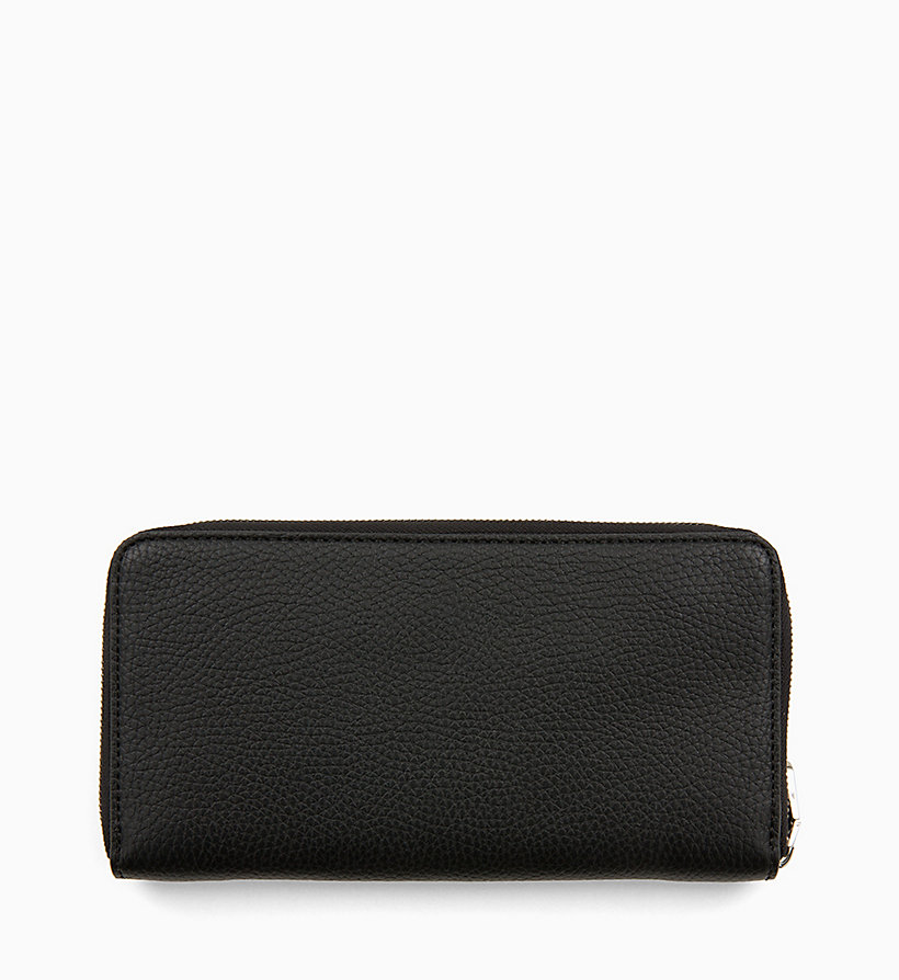 CALVIN KLEIN JEANS Zip-Around Wallet - DARK TAN - CALVIN KLEIN JEANS WOMEN - detail image 1