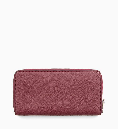 CALVIN KLEIN JEANS Zip-Around Wallet - TAWNY PORT - CALVIN KLEIN JEANS NEW IN - detail image 1
