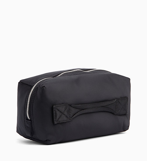 CALVIN KLEIN JEANS Nylon Wash Bag - BLACK - CALVIN KLEIN JEANS WALLETS & SMALL ACCESSORIES - detail image 1