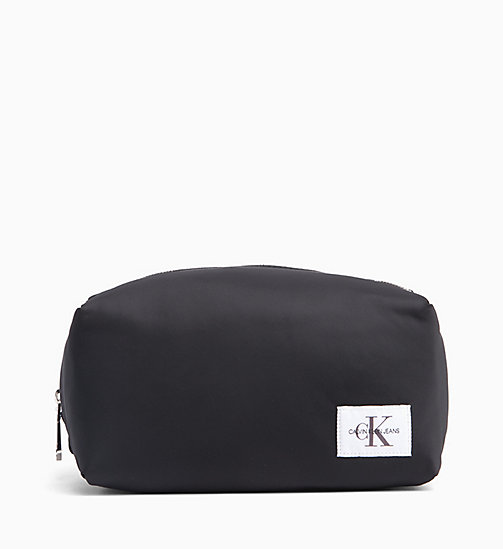 CALVIN KLEIN JEANS Nylon Wash Bag - BLACK - CALVIN KLEIN JEANS WALLETS & SMALL ACCESSORIES - main image