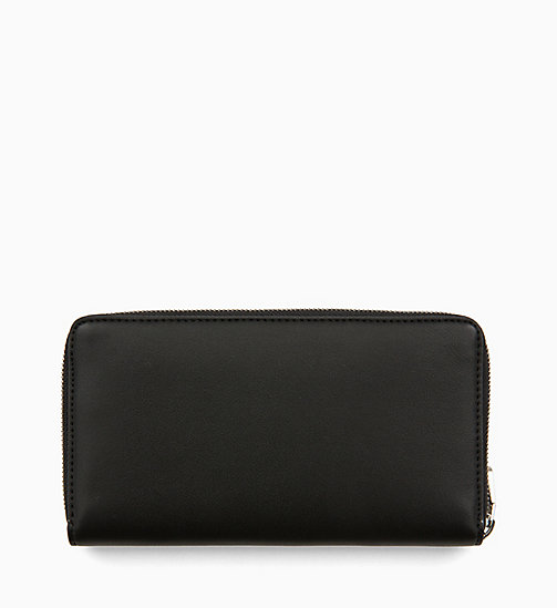 CALVIN KLEIN JEANS Zip-Around Wallet - BLACK - CALVIN KLEIN JEANS SHOES & ACCESORIES - detail image 1