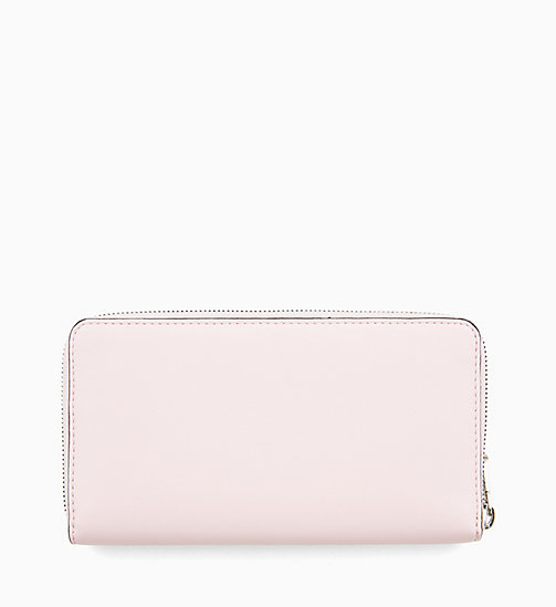 CALVIN KLEIN JEANS Zip-Around Wallet - CHINTZ ROSE - CALVIN KLEIN JEANS WALLETS & SMALL ACCESSORIES - detail image 1
