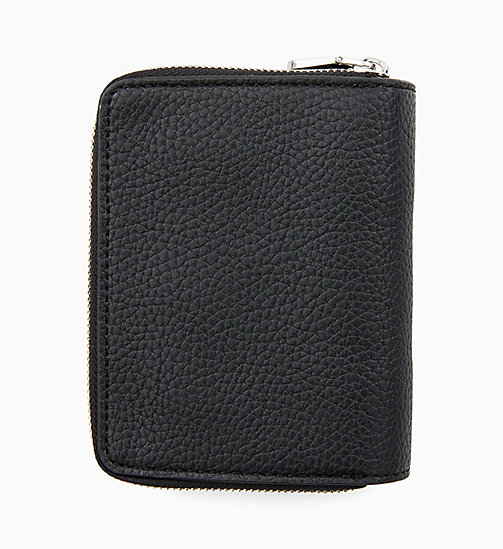 CALVIN KLEIN JEANS French Wallet - BLACK - CALVIN KLEIN JEANS MEN - detail image 1