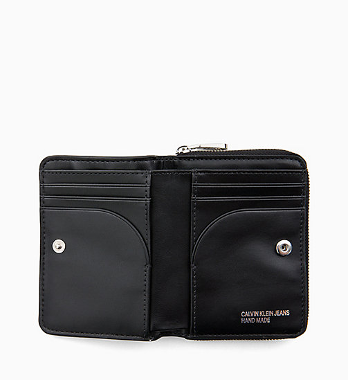 CALVIN KLEIN JEANS French Wallet - BLACK - CALVIN KLEIN JEANS WALLETS & SMALL ACCESSORIES - detail image 1