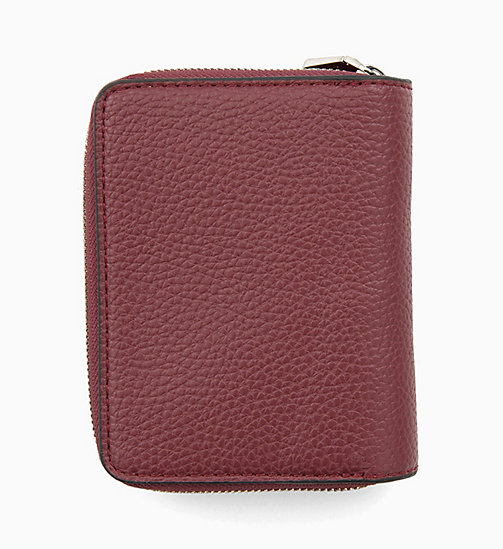 CALVIN KLEIN JEANS French Wallet - TAWNY PORT - CALVIN KLEIN JEANS MEN - detail image 1