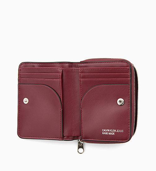 CALVIN KLEIN JEANS French Wallet - TAWNY PORT - CALVIN KLEIN JEANS WALLETS & SMALL ACCESSORIES - detail image 1