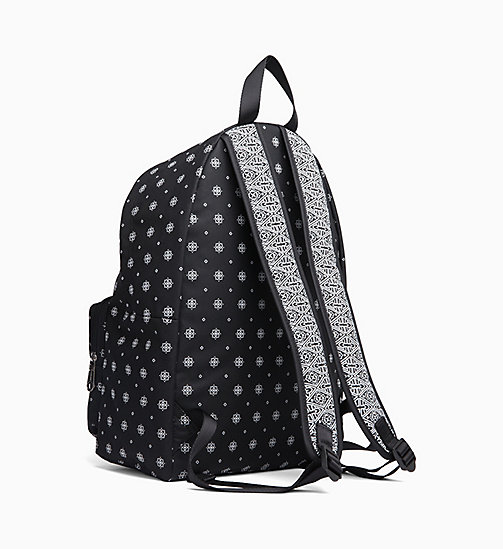 CALVIN KLEIN JEANS Bandana Round Backpack - BANDANA PRINT 2 - CALVIN KLEIN JEANS NEW IN - detail image 1