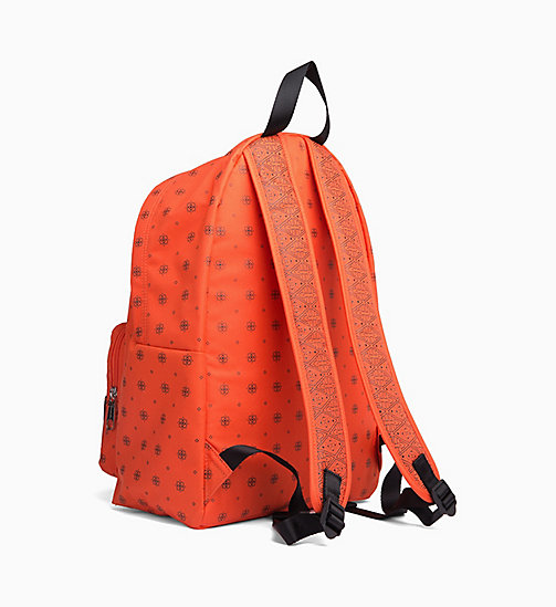 CALVIN KLEIN JEANS Bandana Round Backpack - 904-BANDANA PRINT 3 - CALVIN KLEIN JEANS NEW IN - detail image 1