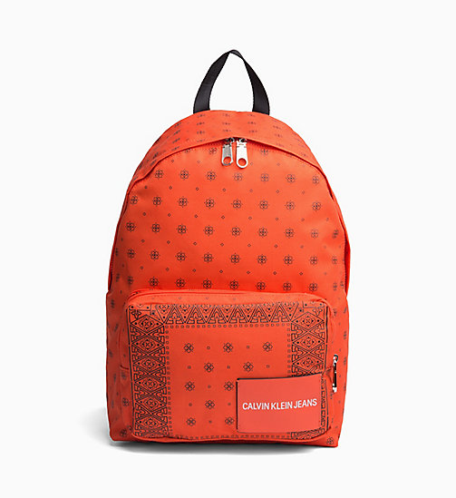 CALVIN KLEIN JEANS Bandana Round Backpack - 904-BANDANA PRINT 3 - CALVIN KLEIN JEANS ALL GIFTS - main image
