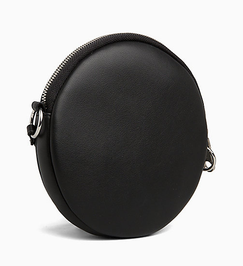 CALVIN KLEIN JEANS Cross Body Circle Bag - BLACK - CALVIN KLEIN JEANS LOGO SHOP - detail image 1