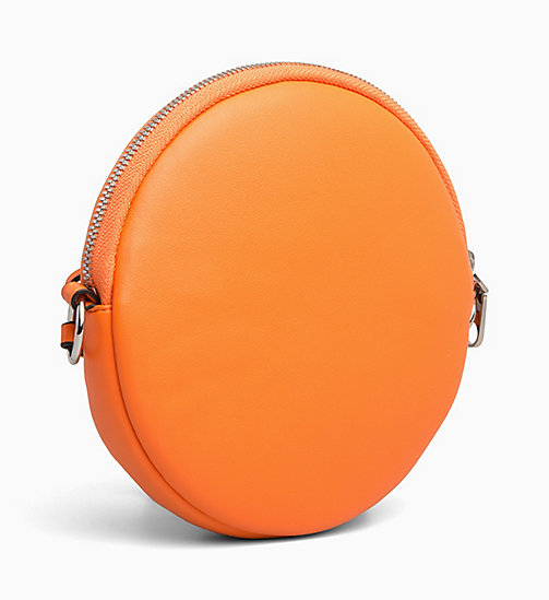 CALVIN KLEIN JEANS Cross Body Circle Bag - ORANGE TIGER - CALVIN KLEIN JEANS BAGS - detail image 1