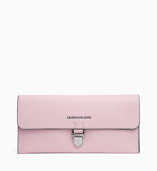 CALVIN KLEIN JEANS Clutch - CHINTZ ROSE - CALVIN KLEIN JEANS SHOES & ACCESSORIES - main image