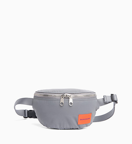 CALVIN KLEIN JEANS Reflective Bum Bag - SILVER - CALVIN KLEIN JEANS IN THE THICK OF IT FOR HER - main image