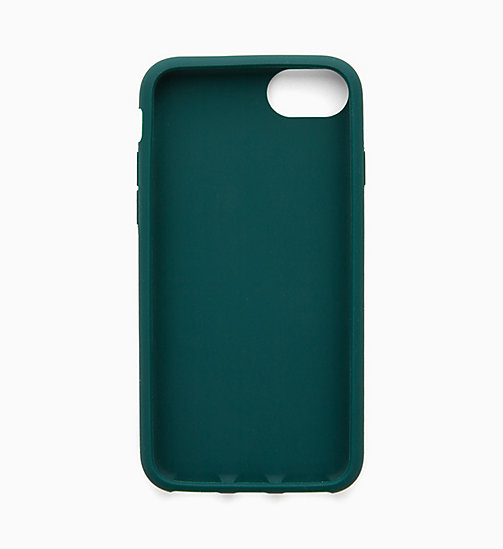 CALVIN KLEIN JEANS Silicone iPhone 8 Case - JUNE BUG - CALVIN KLEIN JEANS WALLETS & SMALL ACCESSORIES - detail image 1