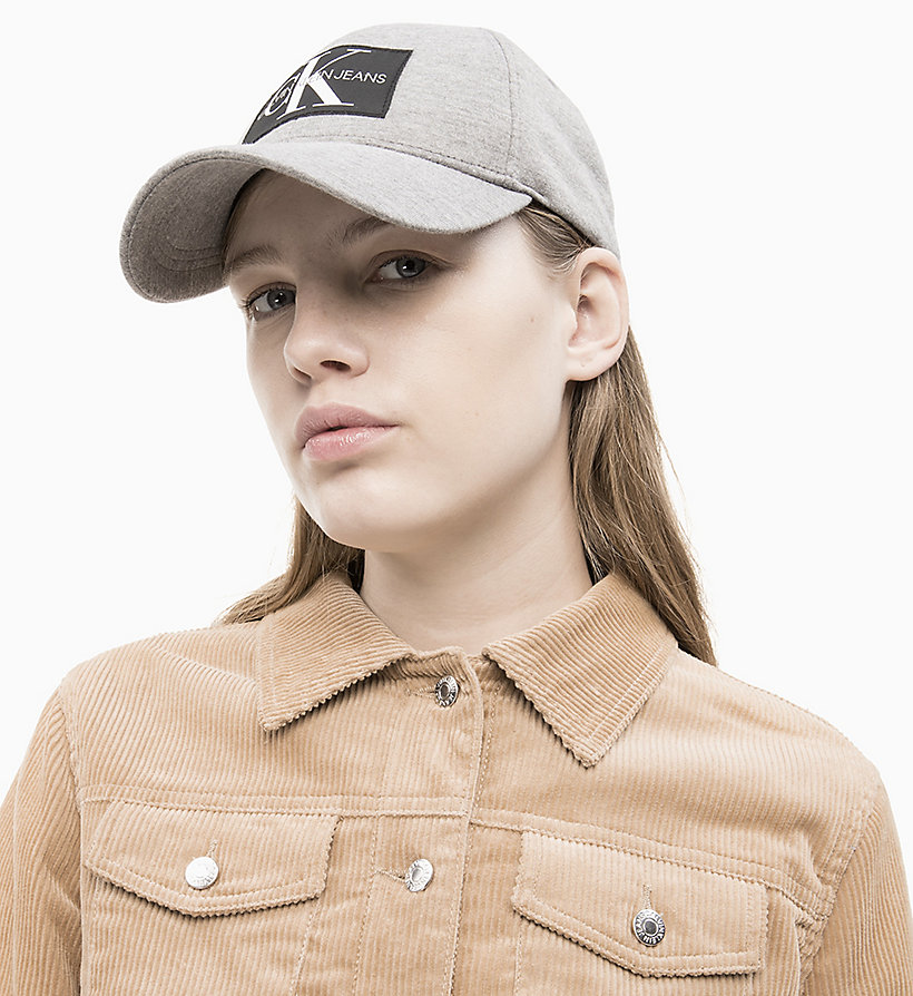 CALVIN KLEIN JEANS Cotton Twill Cap - SURF THE WEB - CALVIN KLEIN JEANS WOMEN - detail image 2