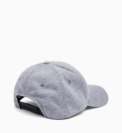 CALVIN KLEIN JEANS Cotton Twill Cap - MID GREY HEATHER B38 - VOL39 -  FALL DREAMS - detail image 1