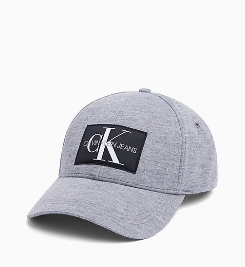 CALVIN KLEIN JEANS Cotton Twill Cap - MID GREY HEATHER B38 - VOL39 -  FALL DREAMS - main image