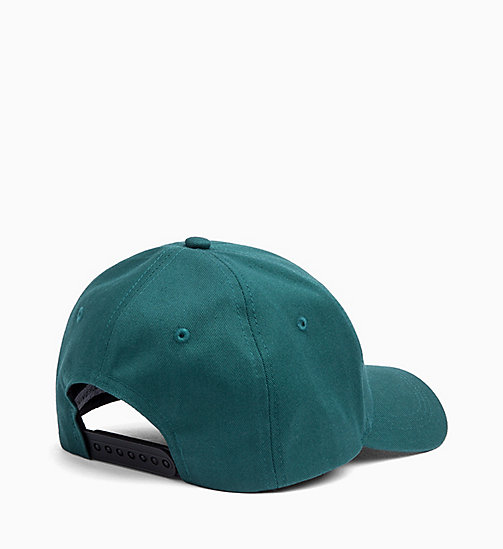 CALVIN KLEIN JEANS Cotton Twill Cap - JUNE BUG - CALVIN KLEIN JEANS ALL GIFTS - detail image 1