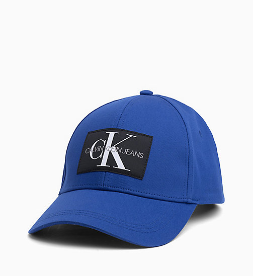 CALVIN KLEIN JEANS Cotton Twill Cap - SURF THE WEB - CALVIN KLEIN JEANS HATS - main image