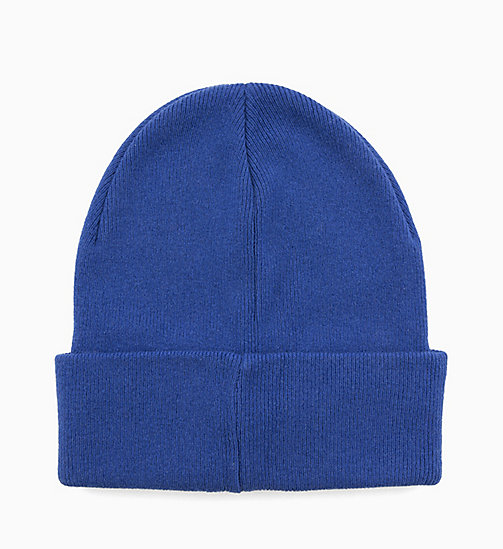 CALVIN KLEIN JEANS Wool Blend Logo Beanie - SURF THE WEB - CALVIN KLEIN JEANS ALL GIFTS - detail image 1