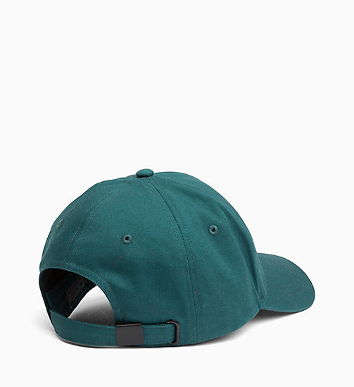 CALVIN KLEIN JEANS Cotton Twill Cap - JUNE BUG - CALVIN KLEIN JEANS BOLD GRAPHICS - detail image 1