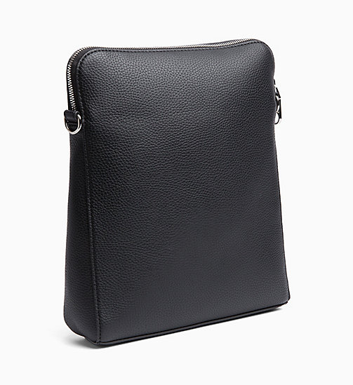 CALVIN KLEIN JEANS Flat Cross Body Bag - BLACK - CALVIN KLEIN JEANS NEW IN - detail image 1