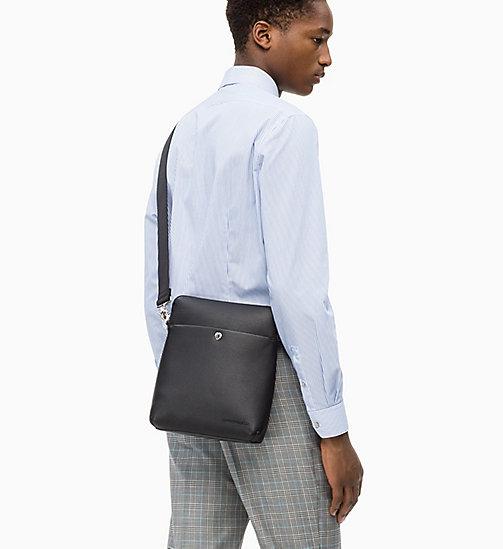 Calvin Klein Jeans Flat Cross Body Bag Black New In