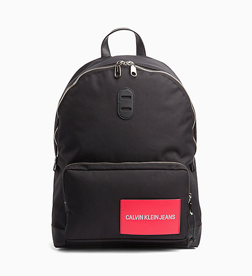 CALVIN KLEIN JEANS Backpack - BLACK - CALVIN KLEIN JEANS NEW IN - main image