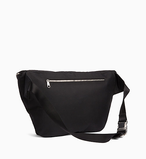 CALVIN KLEIN JEANS Oversized Bum Bag - BLACK - CALVIN KLEIN JEANS CROSSOVER BAGS - detail image 1
