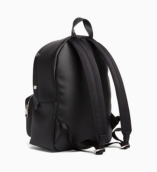 CALVIN KLEIN JEANS Large Logo Banner Backpack - BLACK - CALVIN KLEIN JEANS BACKPACKS - detail image 1