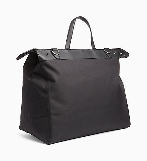 CALVIN KLEIN JEANS Packable Weekend Tote Bag - BLACK -  DUFFLE BAGS & SATCHELS - detail image 1