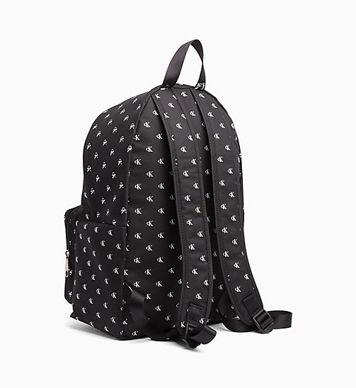 CALVIN KLEIN JEANS Monogram Backpack - BLACK/WHITE - CALVIN KLEIN JEANS NEW IN - detail image 1