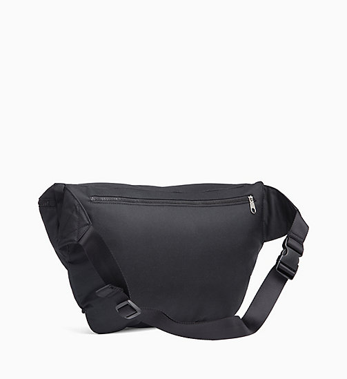 CALVIN KLEIN JEANS Large Bum Bag - BLACK SHINE -  BUM BAGS - detail image 1