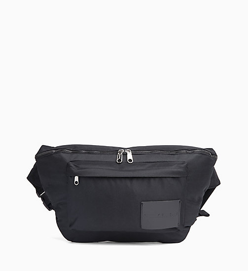 CALVIN KLEIN JEANS Large Bum Bag - BLACK SHINE -  CROSSOVER BAGS - main image