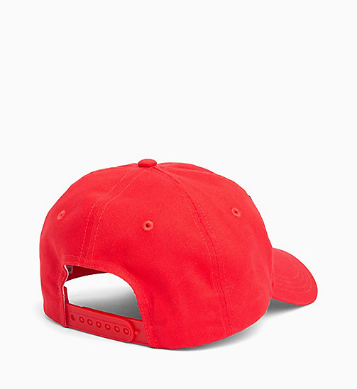 CALVIN KLEIN JEANS Cotton Twill Cap - HIGH RISK - CALVIN KLEIN JEANS HATS - detail image 1