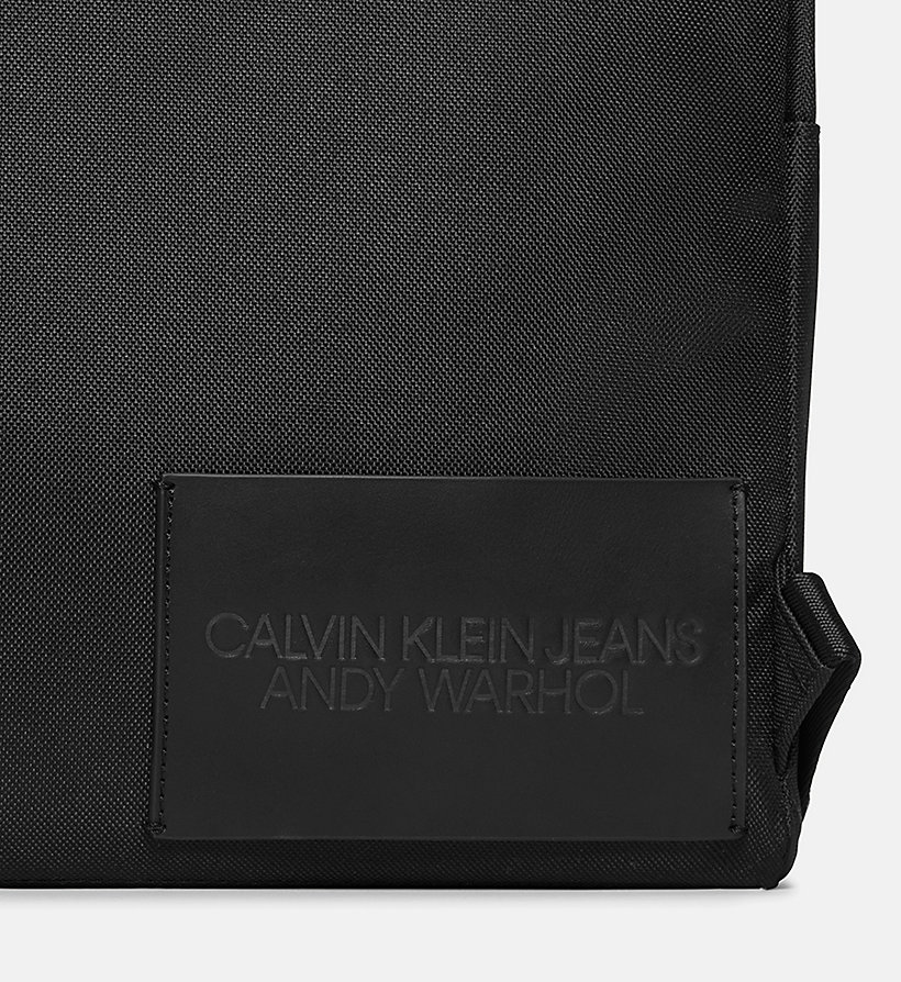 CALVIN KLEIN JEANS Warhol Portrait Campus Backpack - OFF WHITE POP - CALVIN KLEIN JEANS WOMEN - detail image 3