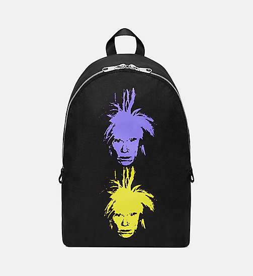 CALVIN KLEIN JEANS Warhol Portrait Campus Backpack - BLACK -  ANDY WARHOL - main image