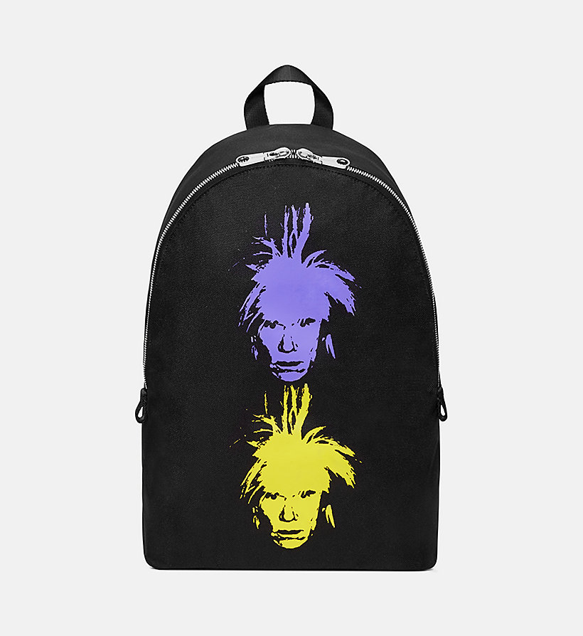 CALVIN KLEIN JEANS Warhol Portrait Campus Backpack - OFF WHITE POP - CALVIN KLEIN JEANS WOMEN - main image